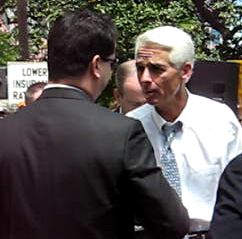 Charlie Crist at Insurance Rally
